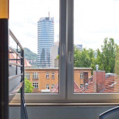Blick aus dem Hostel